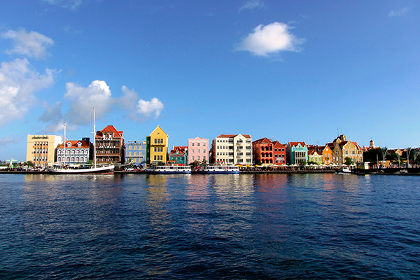 Where can Americans fly right now Curacao Sherpa