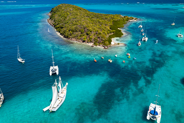 Where can Americans fly right now Saint Vincent and the Grenadines Sherpa