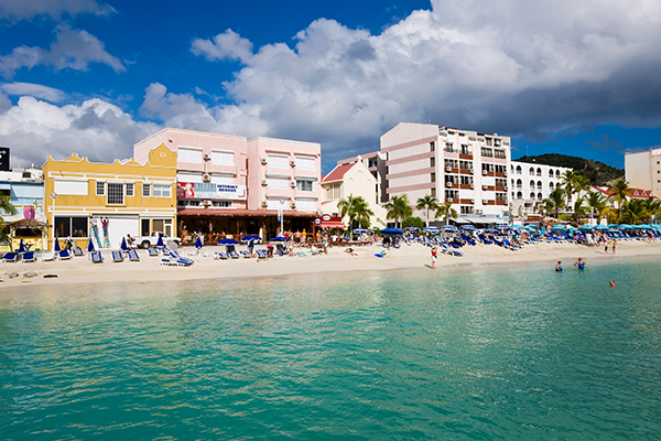 Where can Americans fly right now Saint Martin Sherpa